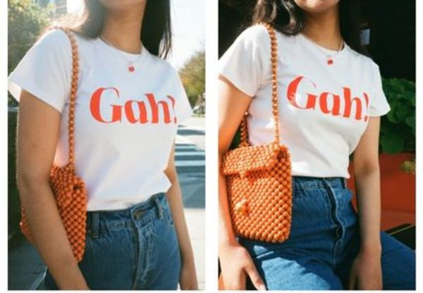 LISA SAYS GAH  Gah! Tee - White Tシャツ 人気!完売前に