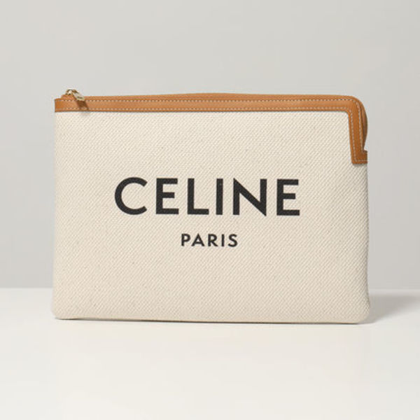 CELINE クラッチバッグ 10D672BVZ.02VG Small Pouch バッグ
