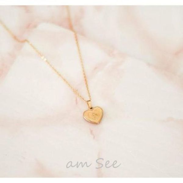 【Lovely Breeze】Andy heart mini ペンダント