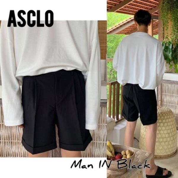 [送料込] ASCLO◆Beru Banding Short Slacks (3color)_韓国発