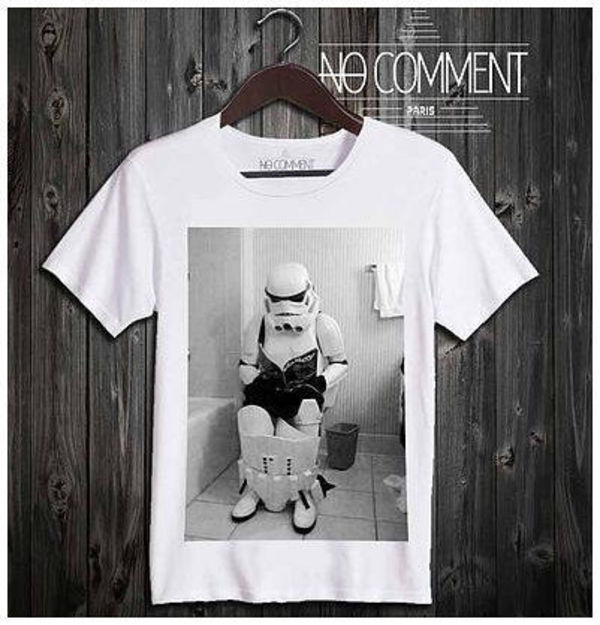 日本未入荷!★NO COMMENT PARIS★star wars toilet【関・送込】