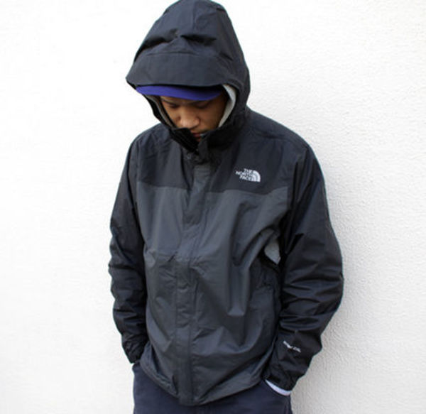 ☆The North Face☆VENTURE JACKET ASPHLT GREY/TNF BLACK