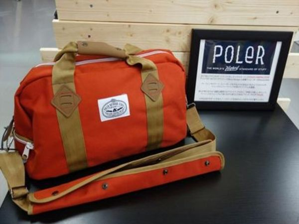 【数量限定】☆★POLER★☆Mini Duffle Orange