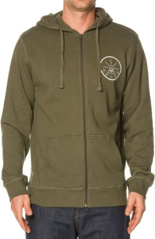 POLER VENN DIAGRAM ZIP UP FLEECE ジップアップパーカー