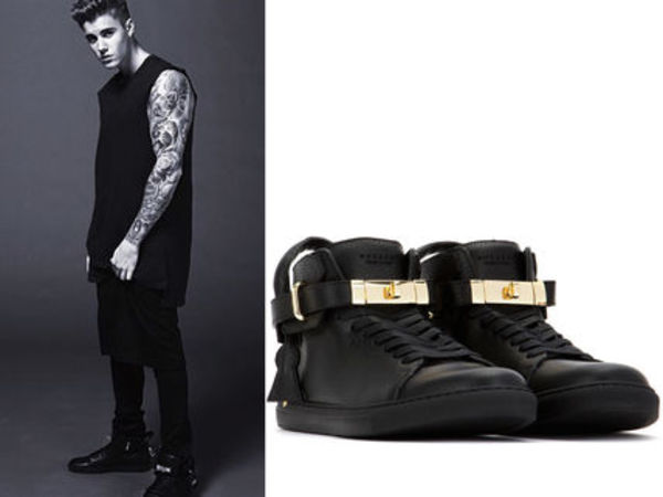 15AW BU002 BUSCEMI 100mm high-top sneaker