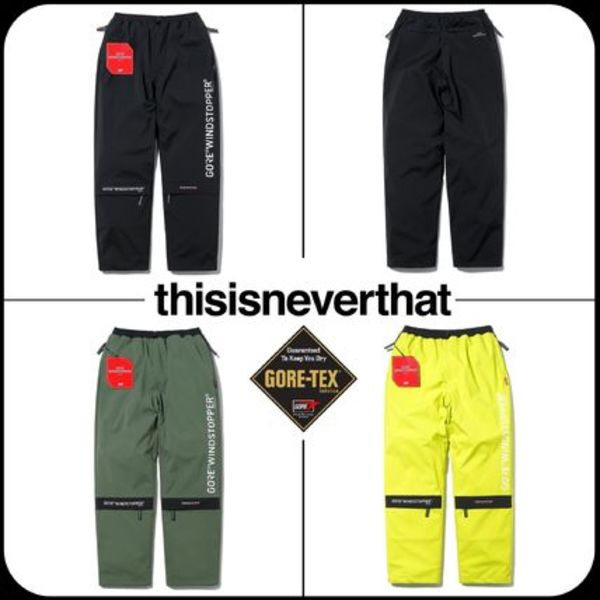 [Thisisneverthat] xGORE-TEXコラボ GORE WINDSTOPPER CITY PANT