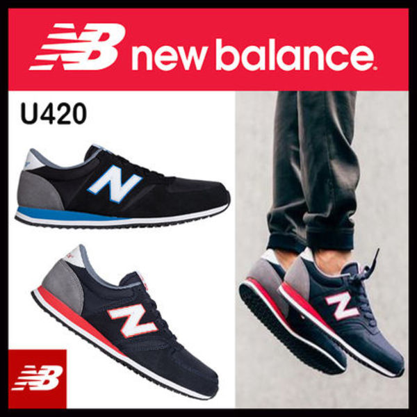 【即発/3-5日着】New Balance/Men's'70s Running'/U420選べる2色