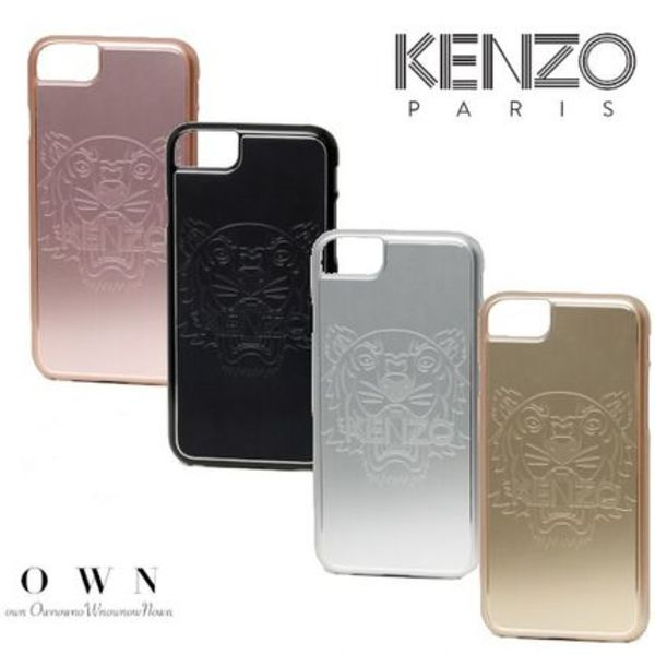 【KENZO】国内発送★アルミTiger iPhone 7/8 case(4色)