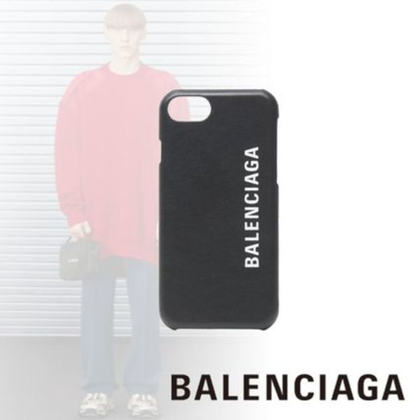 ●送料込●BALENCIAGA●CASH IPHONE 8 ケース