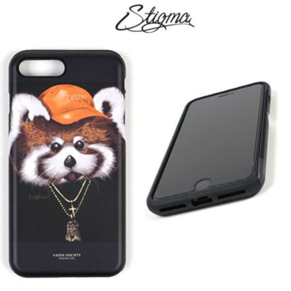 STIGMA(スティグマ)◆PHONE CASE RED PANDA Case◆BLACK