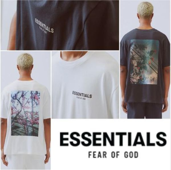 【FEAR OF GOD】Essentials Boxy Photo Series T-Shirt