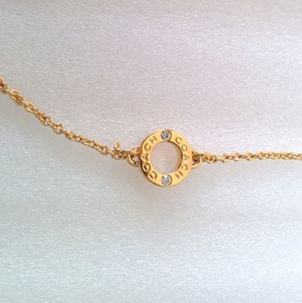 Coach [即発] Box Open Ring Chain Necklace
