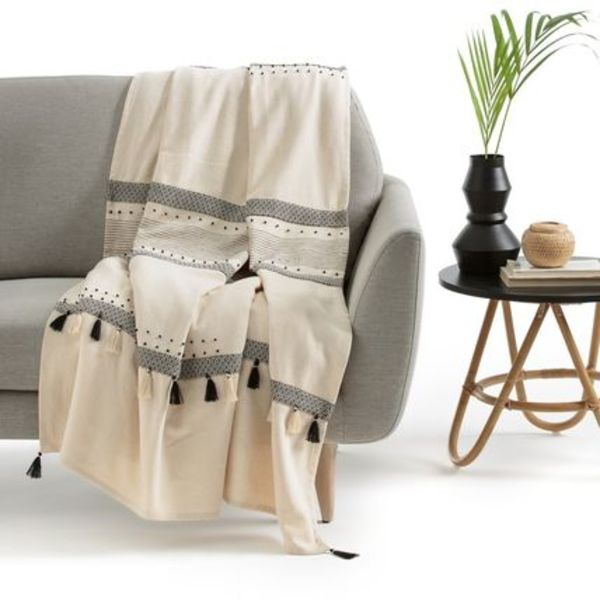 La Redoute★Parfeto Cotton Throw ブランケット