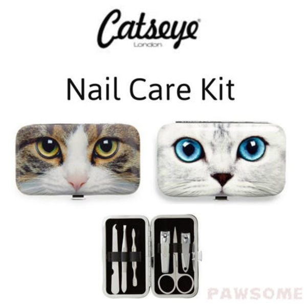 Catseye London ネイルケアキット Tabby Cat / Silver Kitty