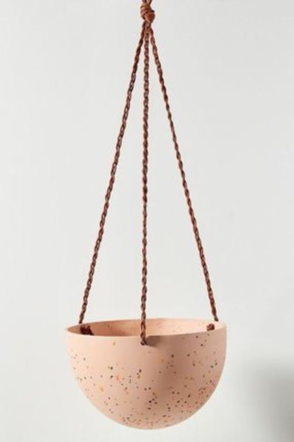 Anthropologie ガーデニング Terrazzo Dome Hanging Planter