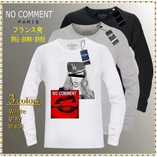 ロングTシャツ注目の【NO COMMENT PARIS】COLLECTION・NCLYN 145
