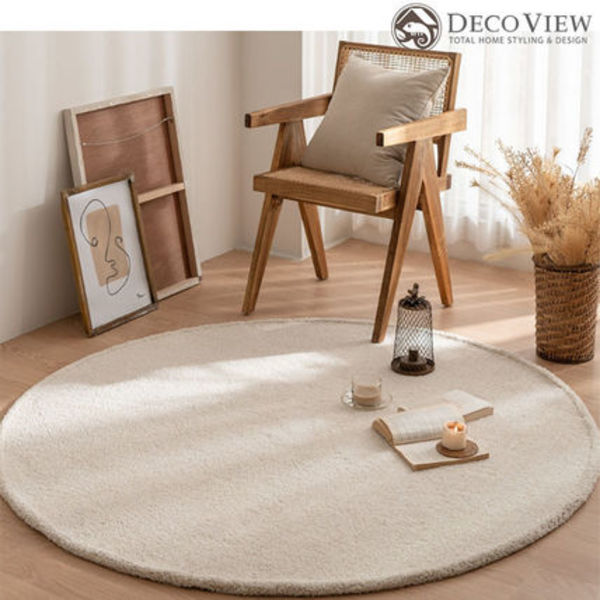DECO VIEW(デコヴュー)★ LUBLIN ROUND RUG - 150R