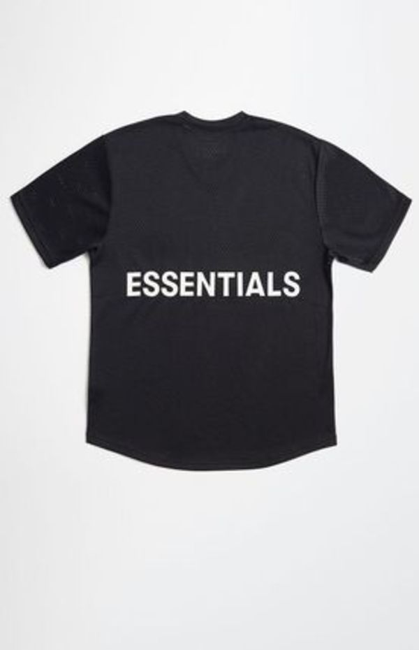 (限定) Fear Of God Essentials メッシュ T-Shirt