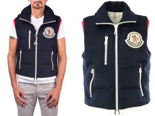 15AW MA012 Moncler a 'Bastien' padded gilet