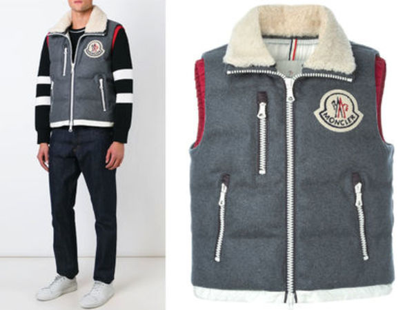 15AW MA016 Moncler a 'Bastien' padded gilet