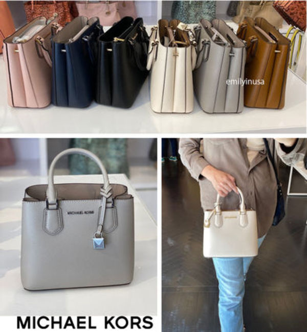 Michael Kors☆ADELE MD MESSENGER 2WAY クロスボディー
