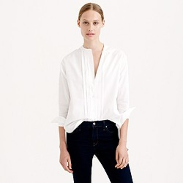 J.CREW コラボ THOMAS MASON FOR J.CREW COLLARLESS TUXEDO SHIRT