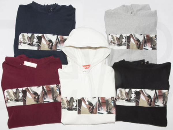 即発 Supreme KIDS 20TH 40oz HOODED SWEAT SHIRT 15S/S 関/追込