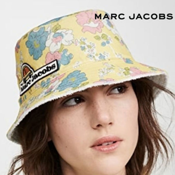 MARC JACOBS ★バケットハット Yellow Multi / 国内発送