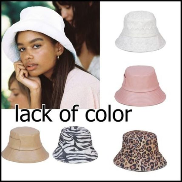 Lack of color Wave Bucket バケットハット 5色 送料込