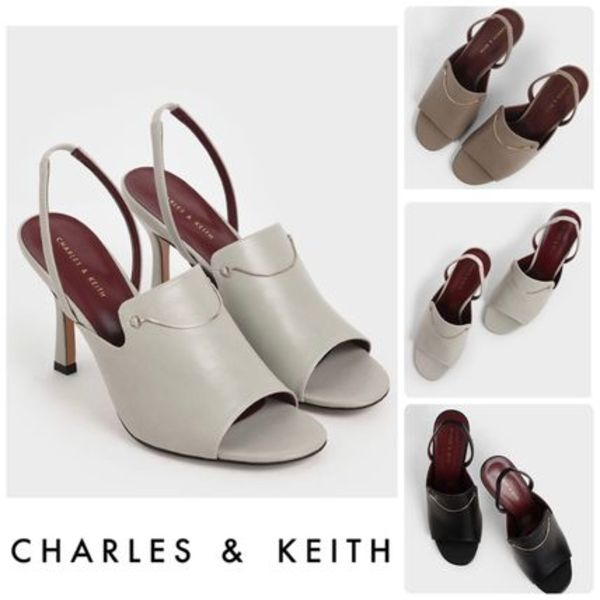 ★CHARLES & KEITH★チェーン リンク ヒール 3色/送料込