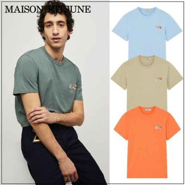 【MAISON KITSUNE】20SS  DOUBLE FOX HEAD PATCH Tシャツ