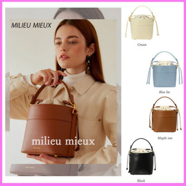 ☆milieu mieux(ミリユミユ)☆moimeme bucket bag 2WAY仕様☆