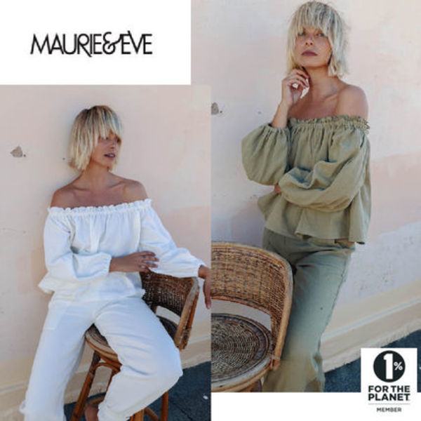 日本未入荷《AUS発》MAURIEandEVE*NIA OFF THE SHOULDER TOP