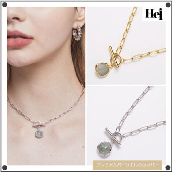 日本未入荷Heiのlabrador choker necklace 全2色