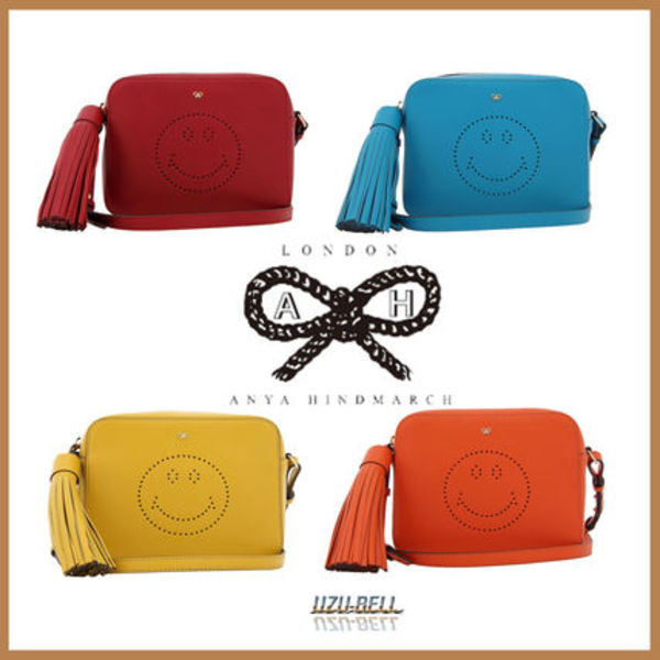 '16春夏 新作 smile cut out detailed shoulder bag 送料税込