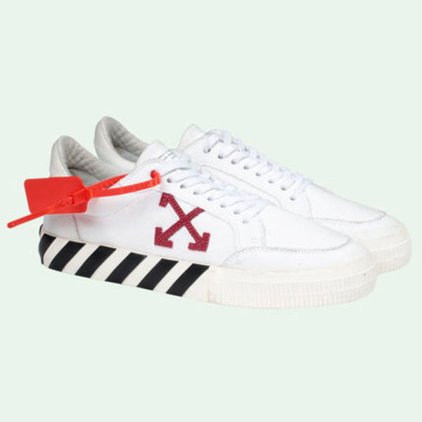 即発送 OFF WHITE 20SS ARROW LOGO VULC SNEAKERS