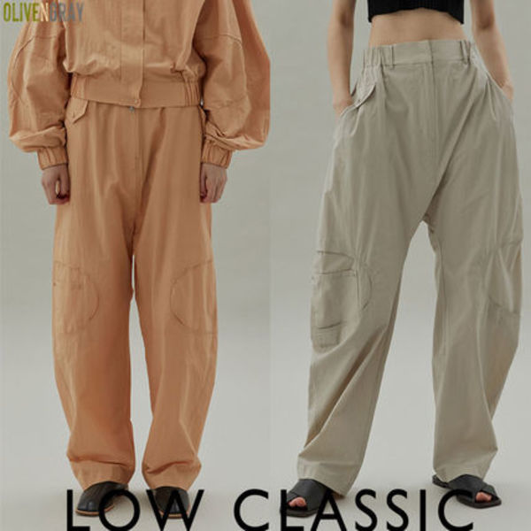 LOW CLASSIC★20SS  STITCH BANDING PANTS★3色★韓国ブランド★