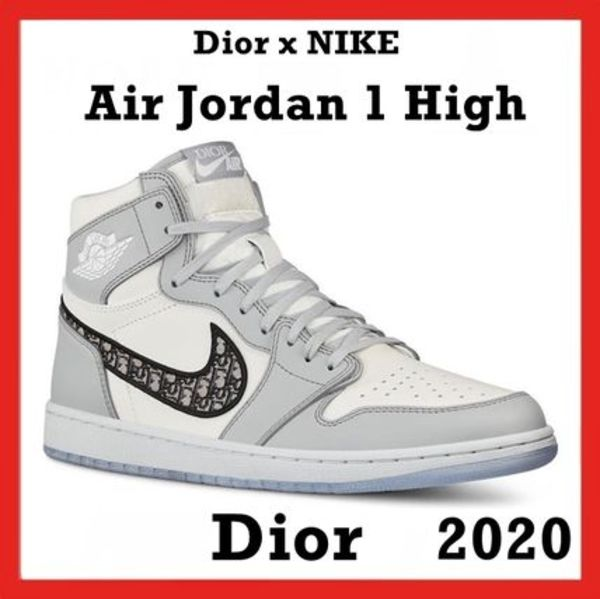 Dior x NIKE Air Jordan 1 High DIOR 2020 SS 20