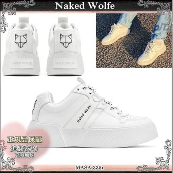 20SS☆送料込【Naked Wolfe】 PIXIE レースアップ スニーカー