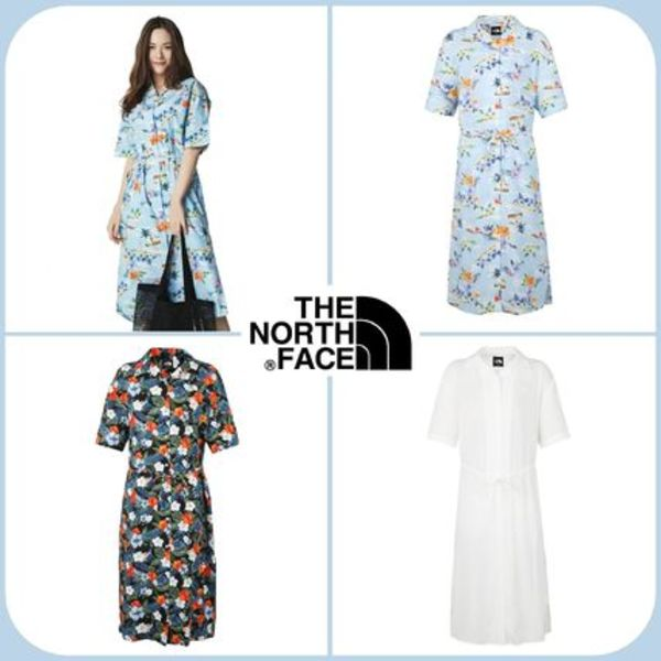[THE NORTH FACE] ★正規品★ W'S TROPICAL S/S LONG SHIRTS