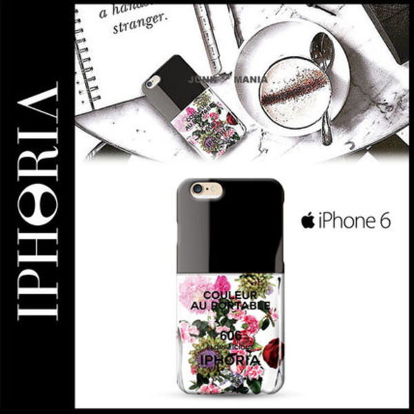 ★【関税返金・IPHORIA】iPhone6/Flower Chique