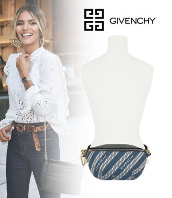 【GIVENCHY】20SS新作*チェーン ジャカード ボディバッグ 2way