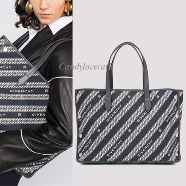 GIVENCHY チェーン ジャカード ミディアム ボンドショッパー
