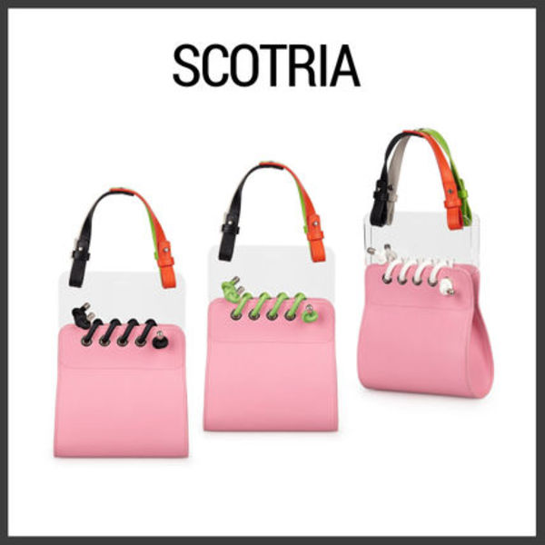 【Scotria】ウィンドウバッグ WINDOW BAG IN PINK