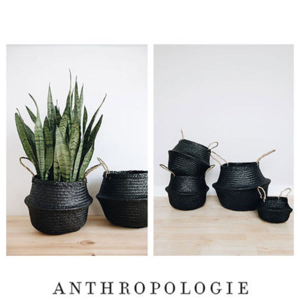 Anthroporogie  Connected Goods Coal Belly バスケット size M