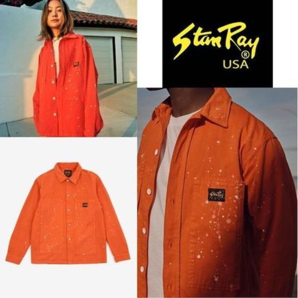 *Stan Ray*人気☆BOX JACKET CORAL BLEACH☆ボックスジャケット