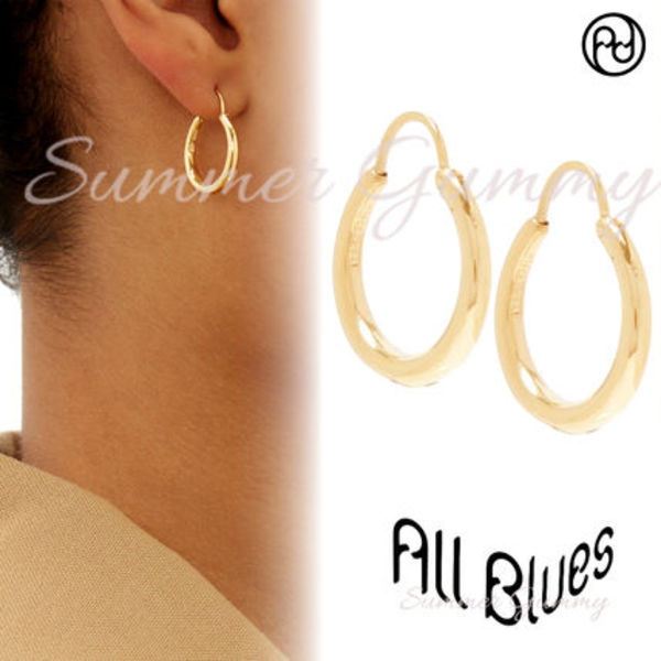 ALL BLUES 》Hungry Baby Snake gold-vermeil★ピアス