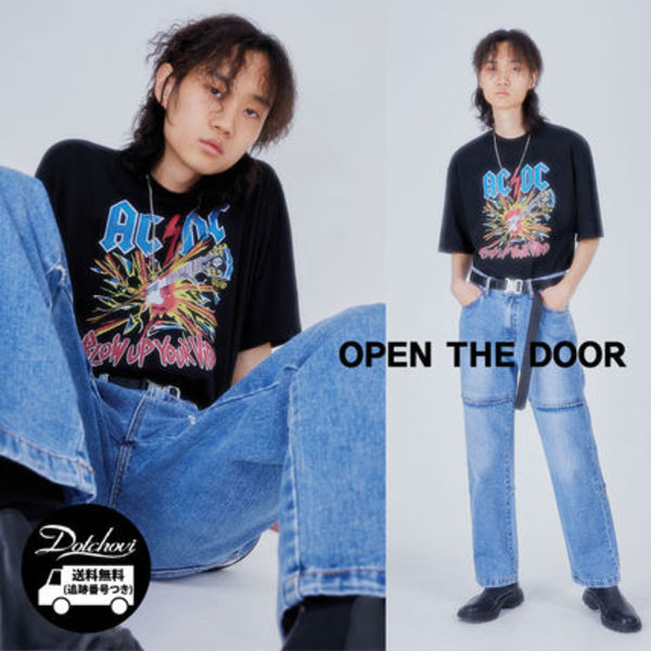 OPEN THE DOOR ACDC blow up 12 T NR478 追跡番号付