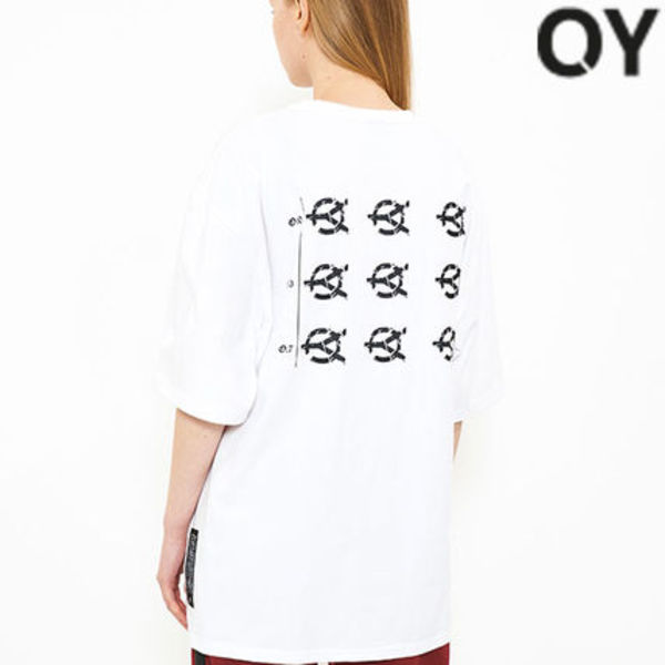 ★OY★ EYESIGHT TEST LOGO T-WHITE★正規品/韓国直送料込