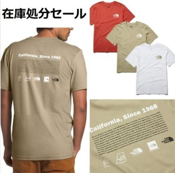 日本未入荷 THE NORTH FACE☆M'S LOGO-LUTION S/S R/TEE NT7UL00